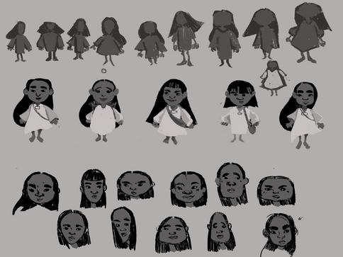 Tepin Character Design
