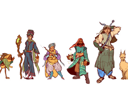 Archetype Character Designs