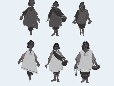 Mother Character Design