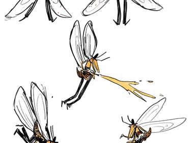Worker Bee Character Design