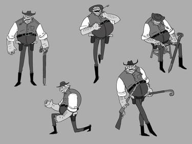 Sheriff Character Design