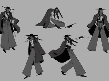Bandit Character Design