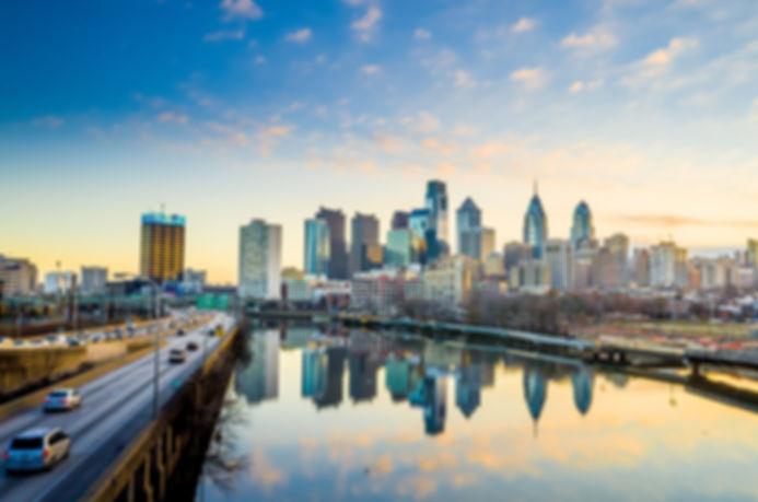 Downtown Skyline of Philadelphia, Pennsy