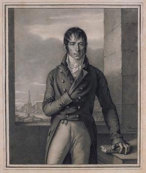 JEAN-BAPTISTE WICAR (1783–1859)   Portrait of Antoine-Christophe Saliceti   Private collection, USA
