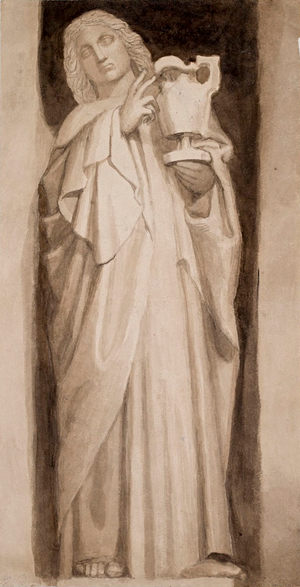 JOHN FLAXMAN (1755–1826) ⎜ Saint John the Evangelist ⎜ The Metropolitan Museum of Art, New York