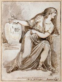 CARLO LABRUZZI (1748–1817) | Cleopatra mourning Mark Antony | Hamburger Kunsthalle