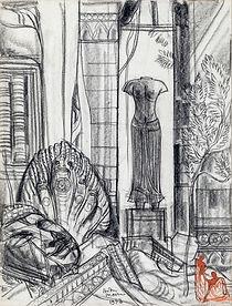 Head of Buddha, a Baphuon Style female Torso and Two Figures, Angkor