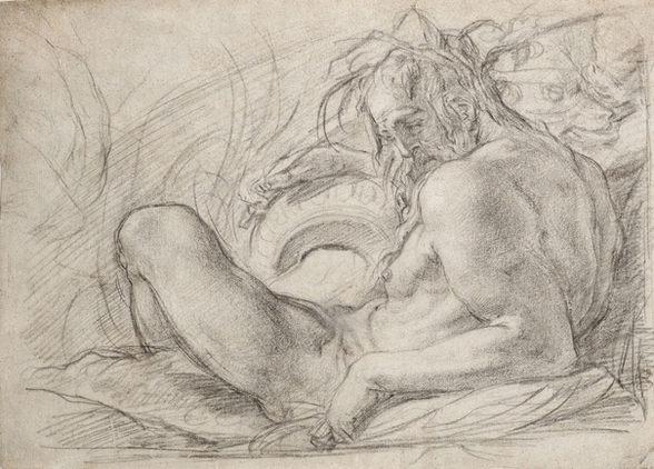 BERNARDINO BARBATELLI, called IL POCCETTI (1548–1612) ⎜ A River God ⎜ Cleveland Museum of Art