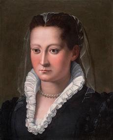 ALESSANDRO ALLORI (1535–1607) ⎜ Portrait of a Young Woman ⎜Private collection