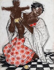 A Malgache and her Child