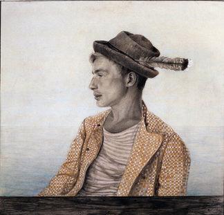 EMILIE MEDIZ-PELIKAN (1861–1908) ⎜ Donauschiffer (Skipper on the Danube) ⎜ Private collection, Paris
