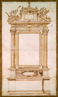 JACOPO ZUCCHI (c. 1540-1596)  ⎜ Design for an Altar  ⎜National Gallery of Canada, Ottawa