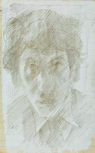 JOHN SERGEANT (1937-2010) | Self-Portrait | British Museum, London