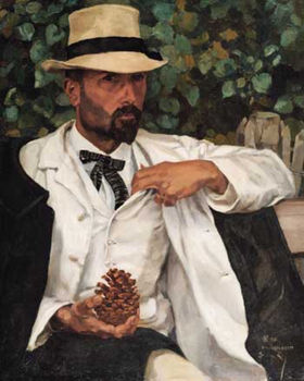 PIERRE ROY (1880-1920) ⎜Portrait of M. Donatien Roy, the Artist's Father ⎜ Private collection, USA