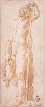 GIULIO PIPPI, called GIULIO ROMANO (c. 1492/99–1546) ⎜Bacchus as Autumn ⎜Private collection, New York