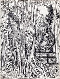 Ganesha and Vishnu, Angkor
