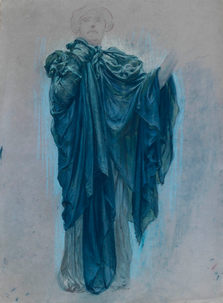 ADOLF HIRÉMY HIRSCHL (1860-1933) ⎜Study for the Figure of Solitary Rome⎜Private collection, USA