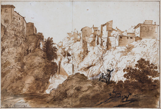 BARTHOLOMEUS BREENBERGH (1598–1657) ⎜Tivoli ⎜Private collection