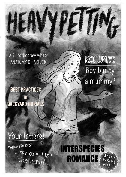 Award-winning self-published mini-comic