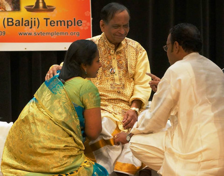 with Padma Vibhushan Dr. Balamuralikrishna