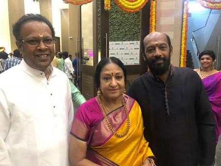 with Padma Bhushan Smt. Padma Subramaniam