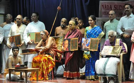 with H. H. Shri Jayendra Saraswati Swamigal