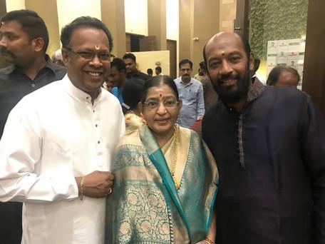 with Smt. P Sushila Amma