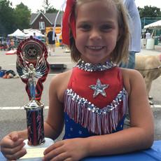 bike and pet parade winner