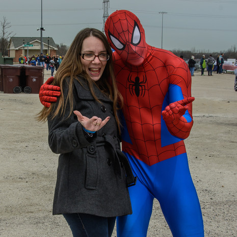 2018 Spiderman at Food Truck Frenzy