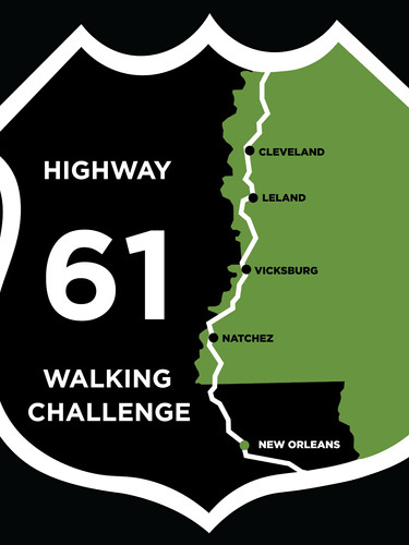 Hwy 61 Walking Challenge