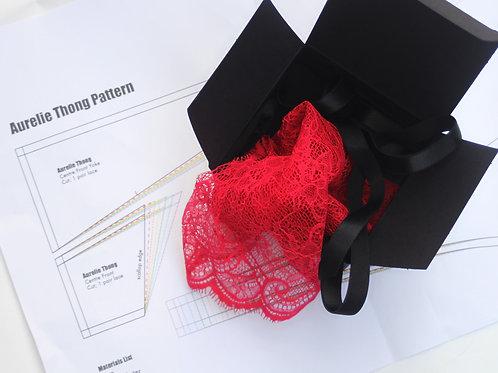 Aurelie Thong Kit in Lipstick