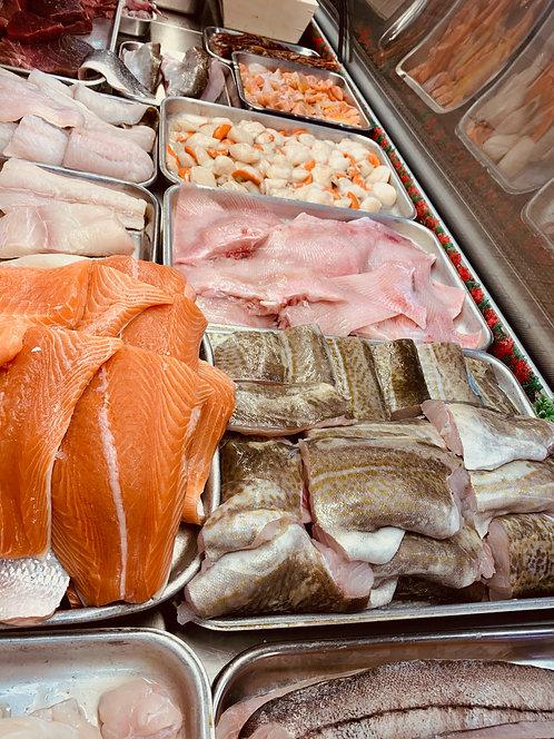Cod (price per kilo)
