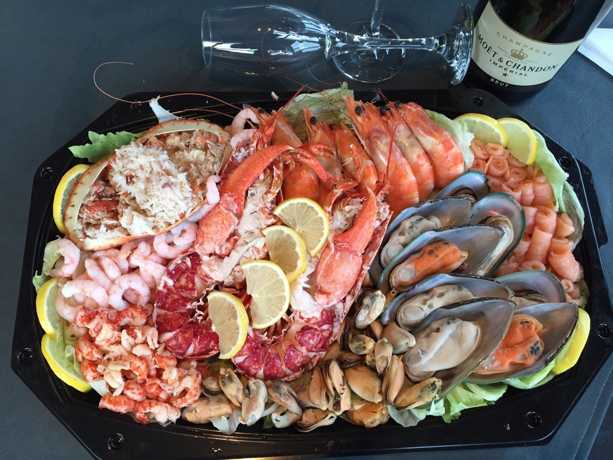 Family seafood Platter