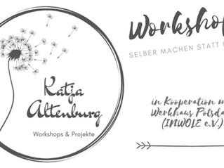 "26.- 27. November Workshop mit Katja Altenburg ""Feste Kosemtik: Shampoo-/ Lotion-Bars & Co"""