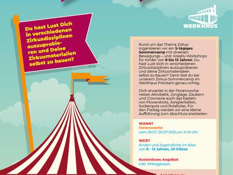 26.07. - 30.07. Zirkuswoche - Sommercamp