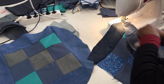 Textil_Kissen nähen