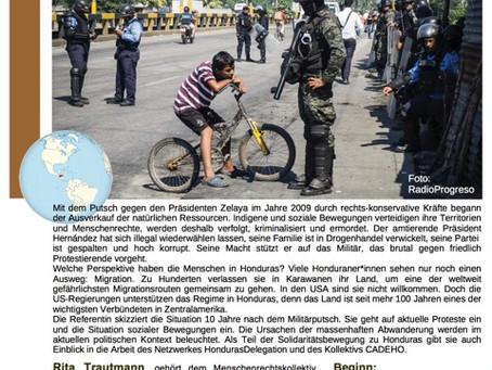 Honduras - Themenabend - 12.09.2019
