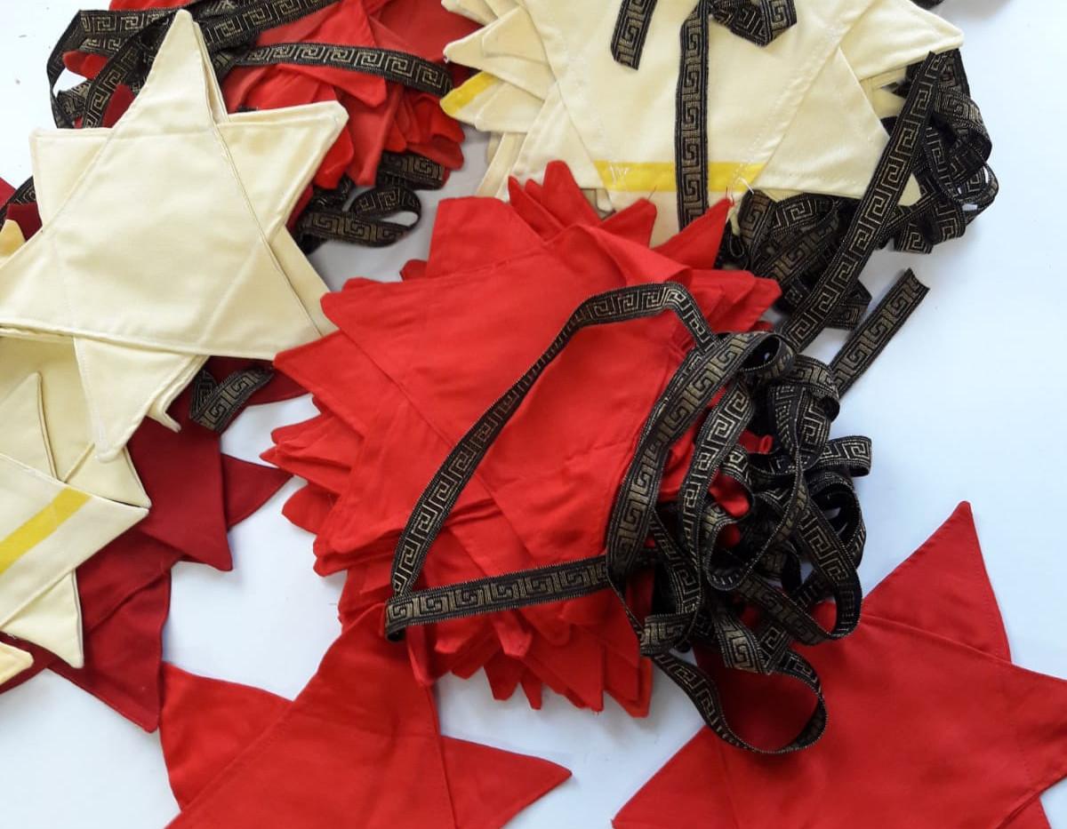 Textil_Weihnachtswimpelkette