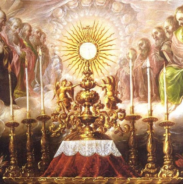 Adoration and souls in purgatory