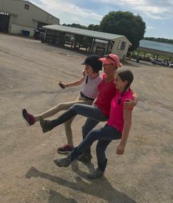 Kicking Up Their Heels