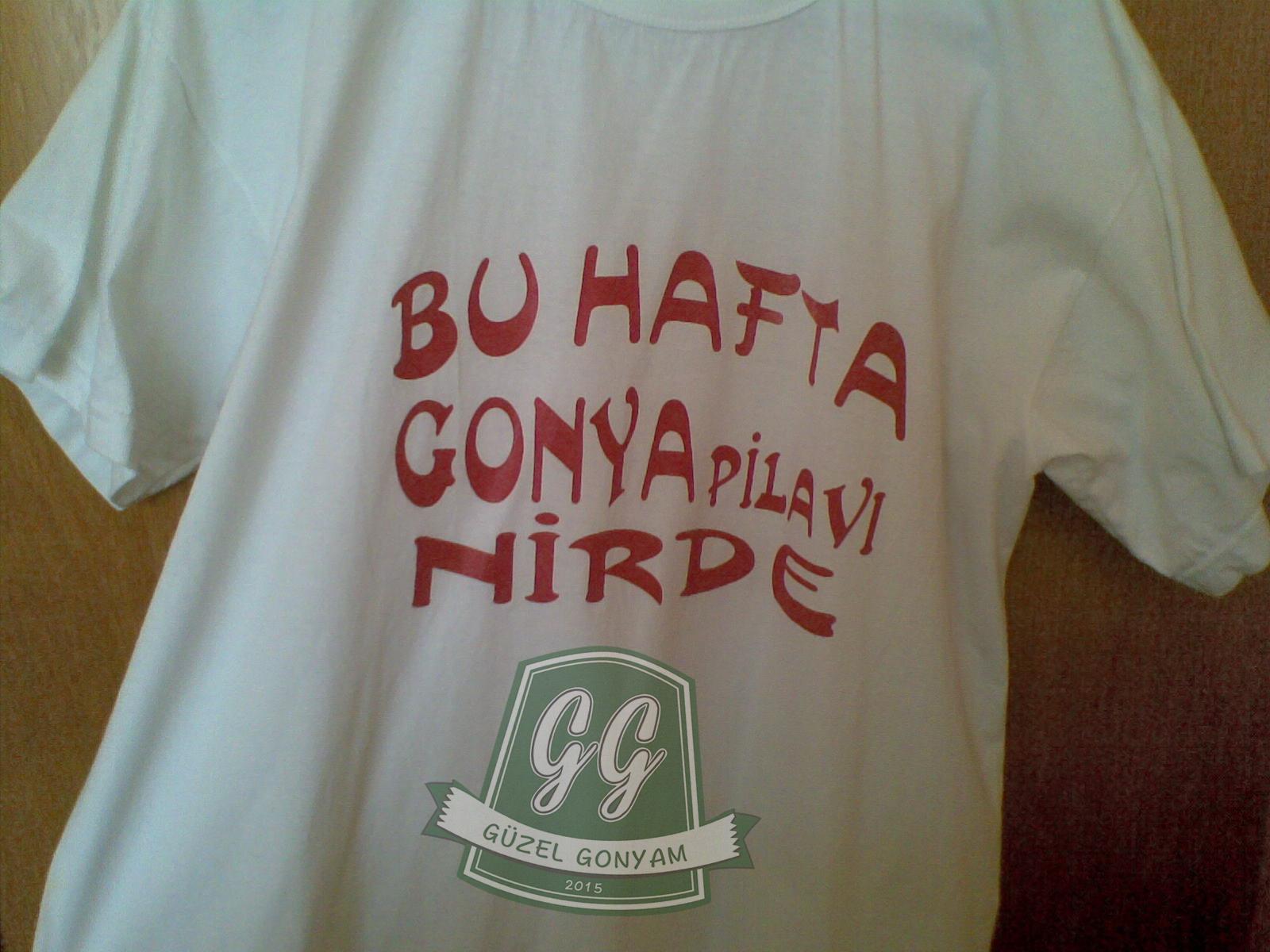 Gonya Pilavı tişörtü
