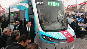 Güzel Gonyam'ın tramvayında bir Cumhurbaşkanı...