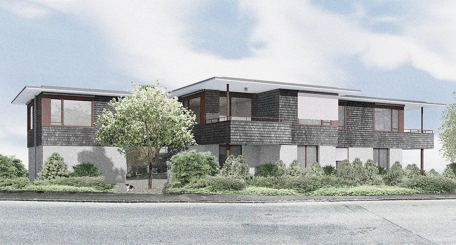 Krake  Flawil Mietwohnung Architektur modern heilig und knab