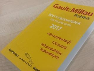 """Znów mamy """"czapkę"""" Gault&Millau 2017"""
