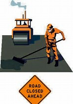 Road construction and sealant