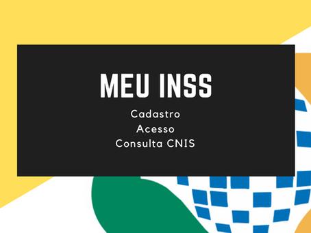 MEU INSS - COMO CONSULTAR O CNIS