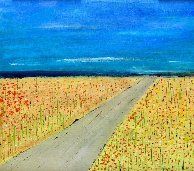 The Poppy Field (Sold)