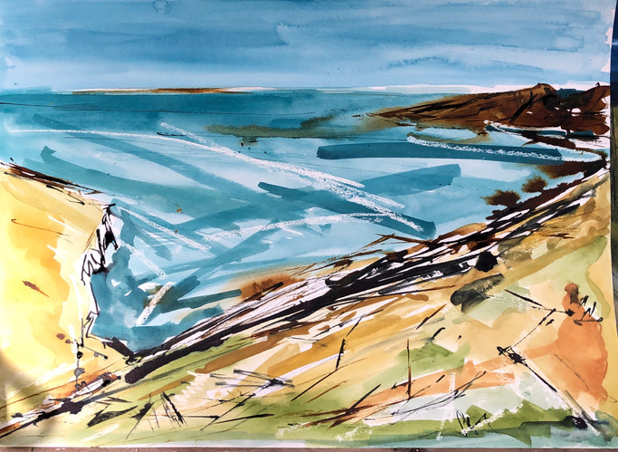 The Cliff Path (Sold)