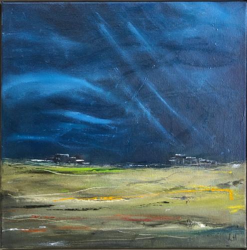 Storm Brewing Over Dartmoor (Sold)
