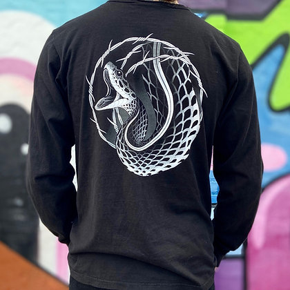 Snake/Barbed Wire  Long Sleeve